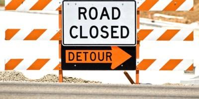Road Closed | Road Constuction Traffic