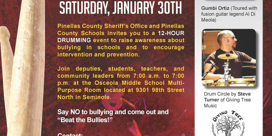 Drum Circle | Pinellas Sheriff | Bullying