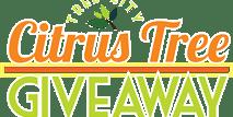 Tree Giveaway Logo   Belleair   Citrus Tree Logo