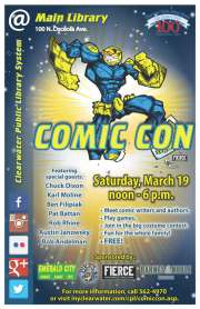 Comic Con 3 Coming to Clearwater
