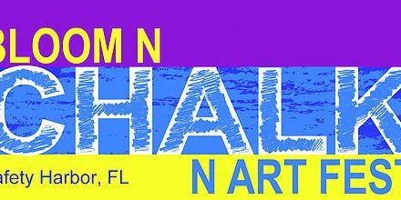 Chalk Art | Chalk Art Festival Logo | Safety Harbor