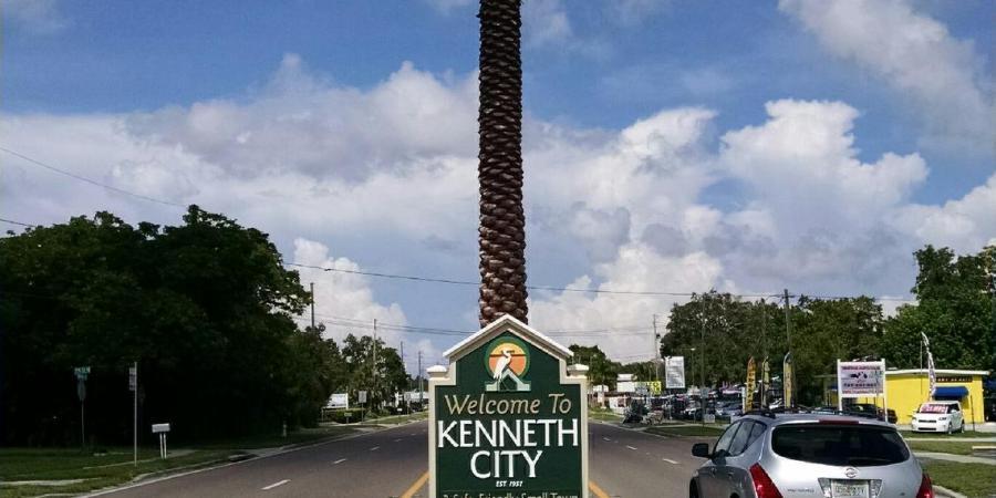 Kenneth City Sign | Kenneth City | 54th Avenue N