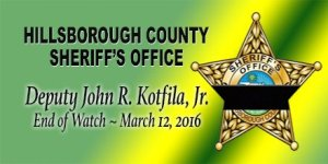 Hillsborough Deputy Killed | Kotfila | Wrong-Way Crash