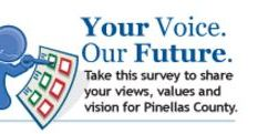 Pinellas County | Citizens Survey | Logo