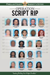 Operation Script Rip 2 | Pinellas County Sheriff | Crime