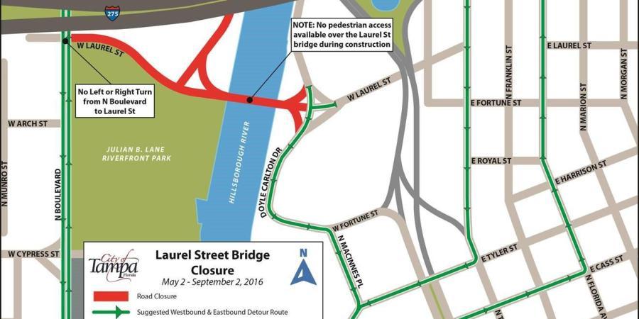 Laurel Street | Laurel Street Bridge | Tampa