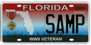 State Issues Six New Military License Plates
