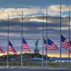 American Flags | Statue of Liberty | Terrorist Attack