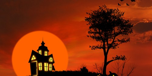 Haunted House | Halloween | Trick or Treat