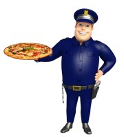 Have a Slice with a Clearwater Cop
