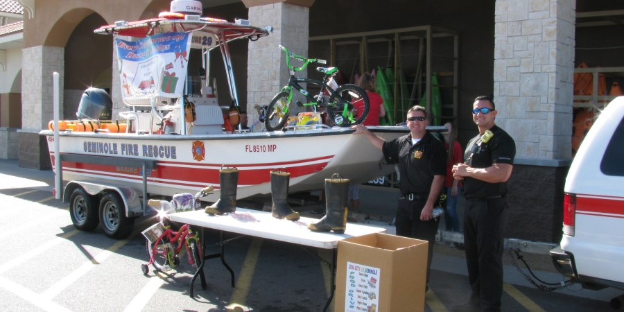 Seminole Fire | Toy Drive | Fill the Boat