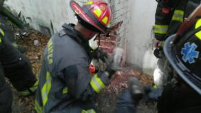 Chimney Rescue | Clearwater Firefighters | Clearwater Fire and Rescue