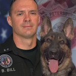 Bill and Stitch | St. Pete PD | Police Dog