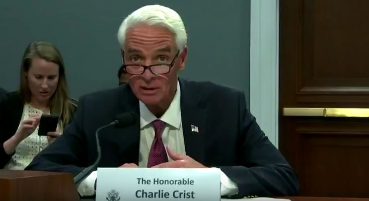 Charlie Crist | Testifying | Environment