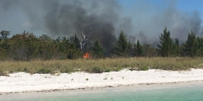 Shell Key Fire | Pinellas Sheriff | Brush Fire