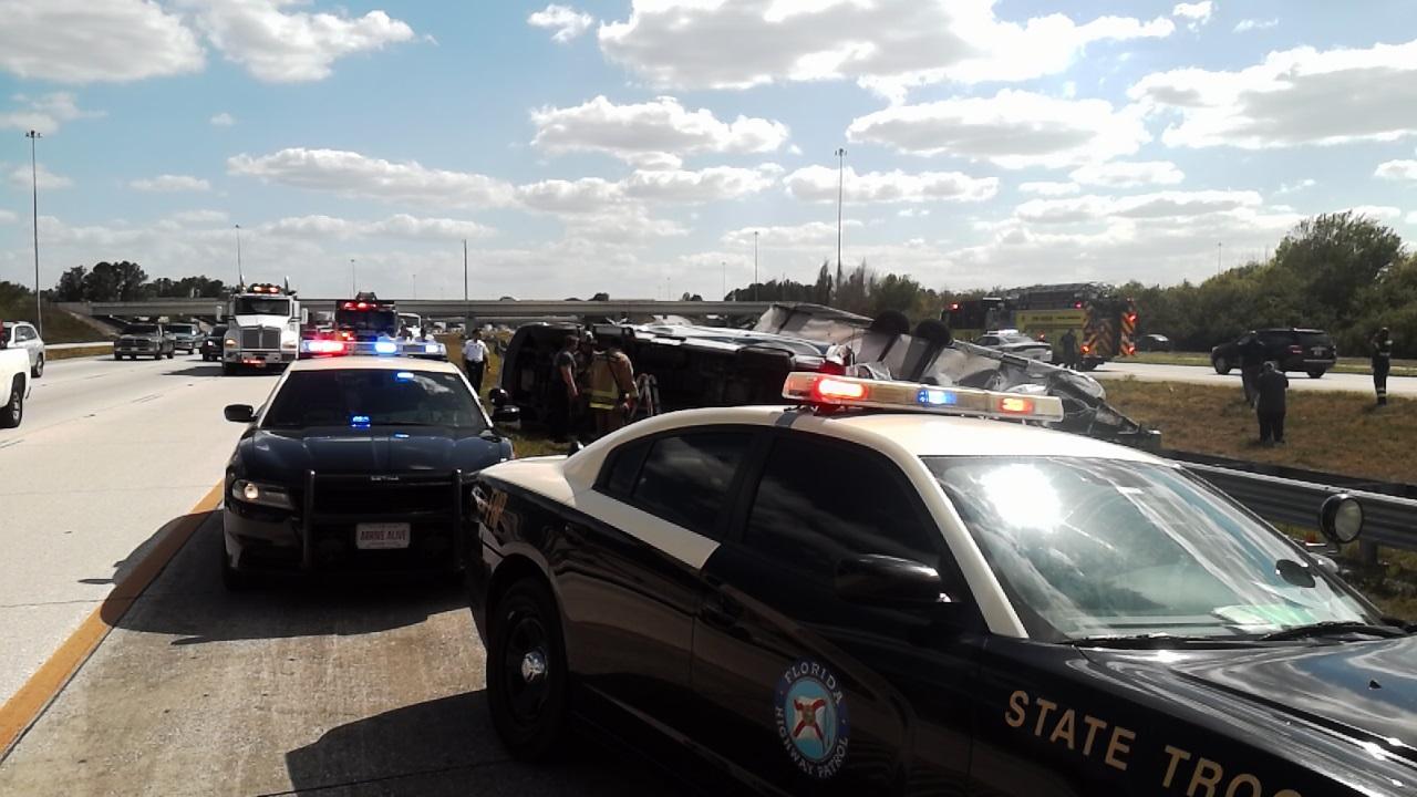 Florida Highway Patrol Traffic >> Hillsborough Single Vehicle Crash Seriously Injures One Tampa Bay