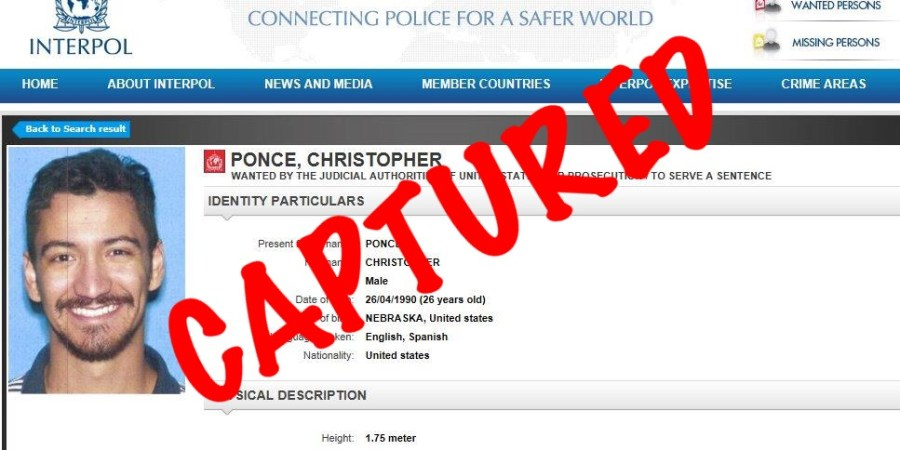 Christopher Ponce Captured | Floida Highway Patrol | TB