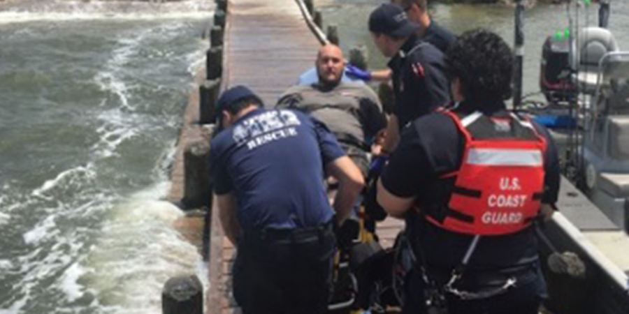 Coast Guard | Clearwater Man Rescued | Levy County EMS