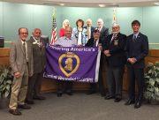 Seminole Named a 'Purple Heart City'