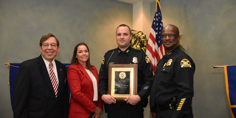 Scott Cameron | St. Petersburg Police | Police Officer of the Year