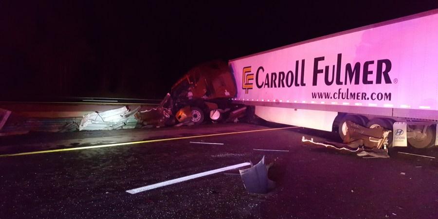 Hit and Run Crash Blocks Northbound I-75 in Hernando | Tampa