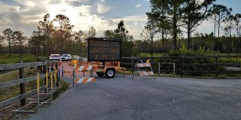 Starkey Park Close | Pasco Conty | Wildfires