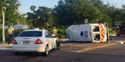 Sunstar Crash | Clearwater Police | Ambulance Crash