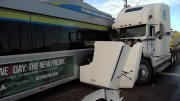 PSTA Bus Crash Causes Fuel Leak