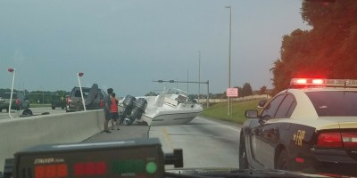Boat | Florida Highway Patrol | I-4 Boat Crash