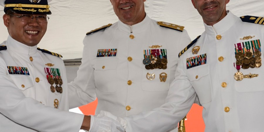 Coast Guard | Change of Command | Venturous