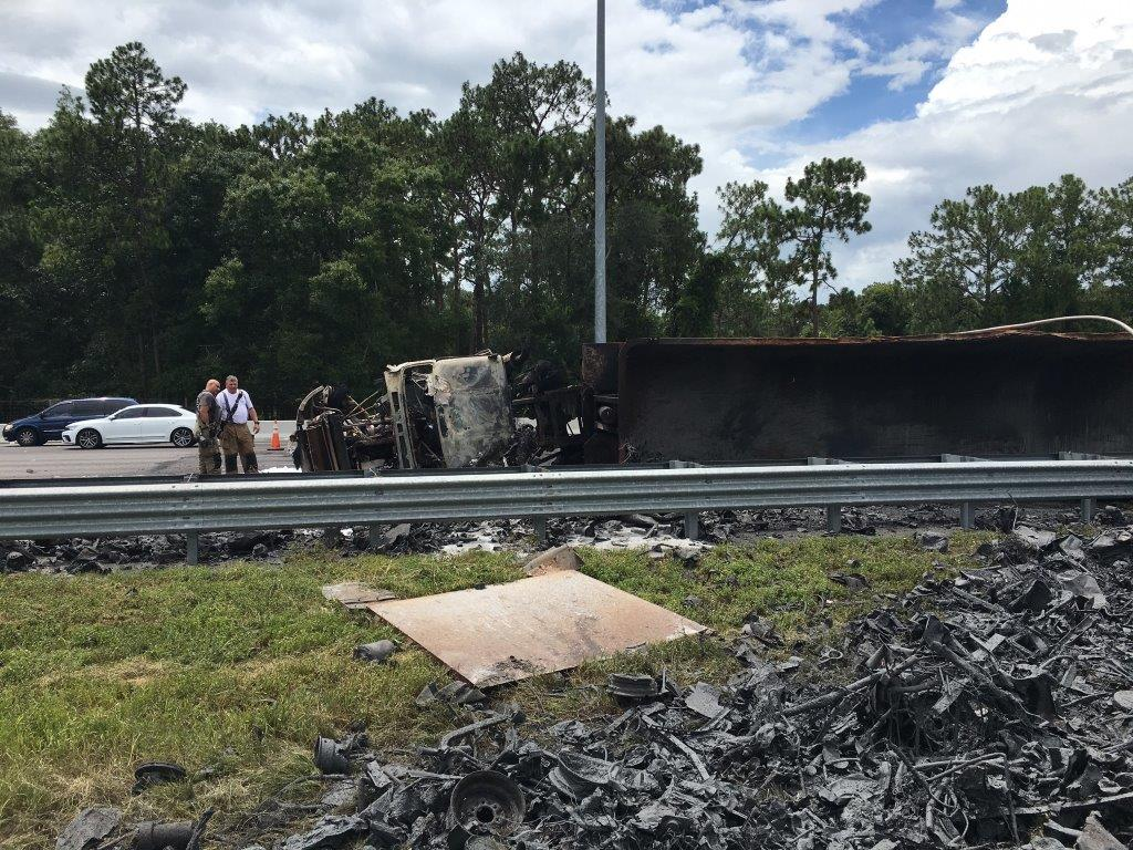 I-75 Southbound Lanes Blocked Due To Fatal Crash Near Micanopy