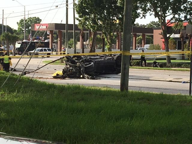Three teens in stolen auto die in Palm Harbor