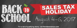 Back to School | Sales Tax Holiday | Shopping