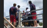 Coast Guard Medevacs Diver