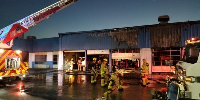 Suncoast Chrysler Fire | Seminole Fire Rescue | Car Dealership Fire