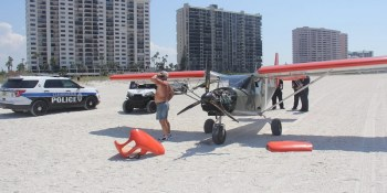 Plane | Sand Key | Clearwater Police