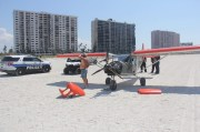 Plane Lands on Sand Key