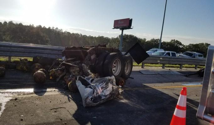 Pumpkin Truck   Florida Highway Patrol   TB Reporter