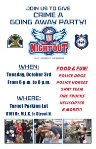 National Night Out Against Crime | St Petersburg Police | Events Near Me