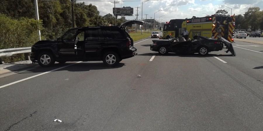 SR-597 Crash   Florida Highway Patrol   Traffic Accident