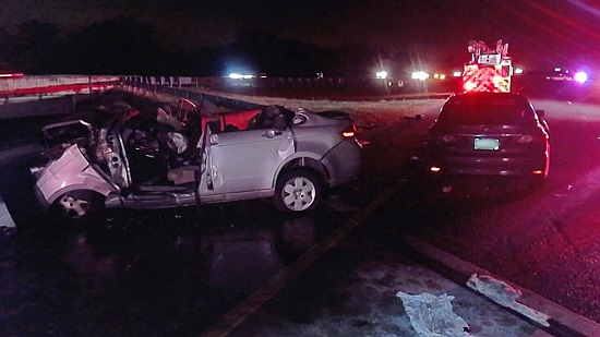Deadly wrong-way crash kills three people