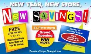 Goodwill | Store Opening | St Petersburg
