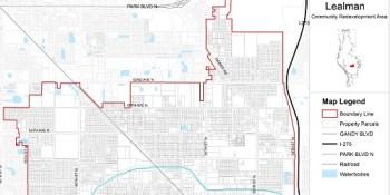 Lealman CRA Map | Lealman | Government