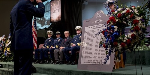 U.S. Coast Guard   Blackthorn   Blackthorn Memorial Service