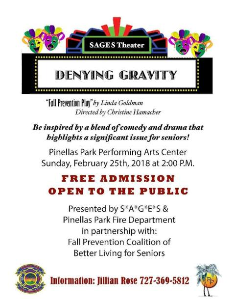 Denying Gravity | PInellas Park Fire | Events