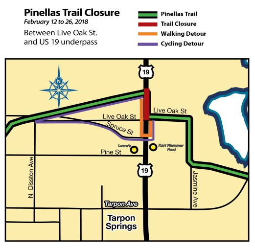 Pinellas Trail Closure | Pinellas County | TB Reporter