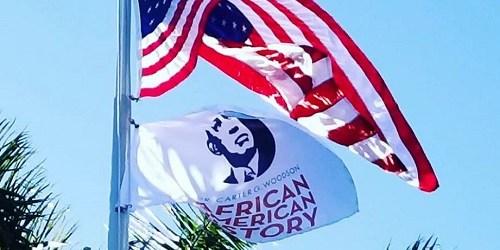 Woodson Flag | Black Hitory Month | Carter Woodson