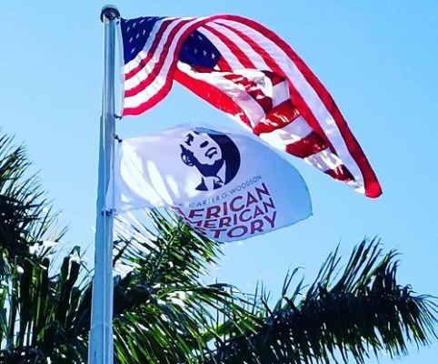 Woodson Flag | Black Hitory Month | TB Reporter