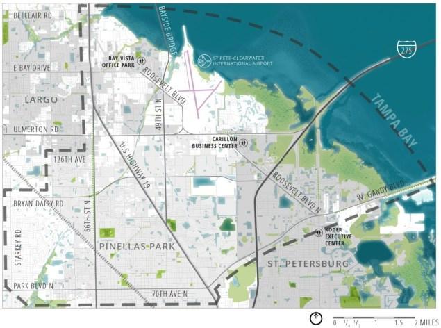 Gateway Study Area Map | Gateway Master Plan | Forward Pinellas