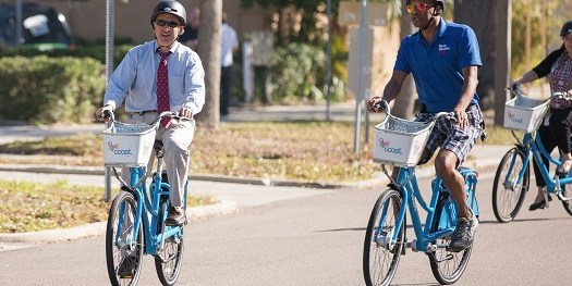 Rick Kriseman | Bicycle | Bike to Work Day